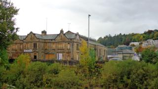 Commercial road site in Hawick