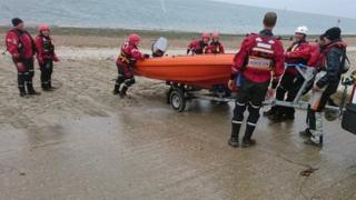 Serve On volunteers involved in a rescue