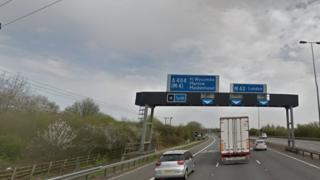 M40 near Junction 4