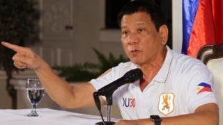 Duterte yari umukuru w'igisagara ca Davao mu 1988