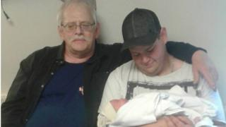 Grandfather, father and son all share the same birthday
