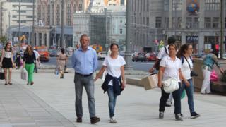 люди на улицах