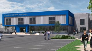 Artist's impression of the revamped facilities