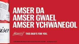 I fyd masnach, a darganfyddodd cwmnioedd rhygwladol eu Cymreigtod gan gynnig anrhegion hael i ni'r Cymry...
