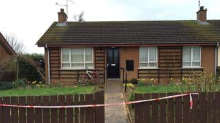 The house in Manor Drive, Lurgan, where the man's body was found