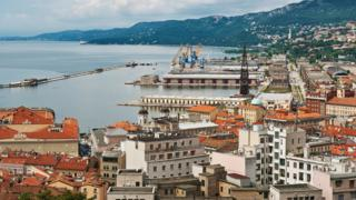 View of Trieste