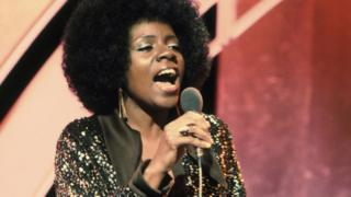 Gloria Gaynor performs on Top of the Pops
