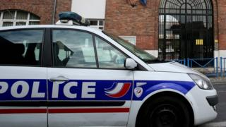 French police car - file pic