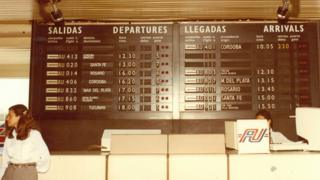 Jorge Newbery Airport, Buenos Aires, Argentina, 1960
