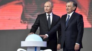 Putin i Mirzijojev