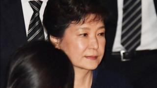 Park Geun-hye amekuwa kizuizini tangu mwezi jana