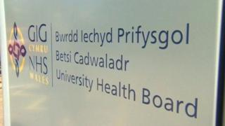 Betsi Cadwaladr sign