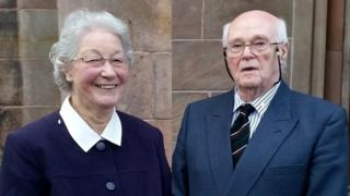Marjorie and Michael Cawdery