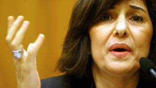 Syria's Bouthaina Shaaban, Presidential Advisor for Political and Information Affairs