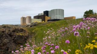 Nuclear Power Station in Anglesey, North Wales