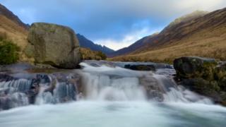 Glen Rosa on the Isle of Arran