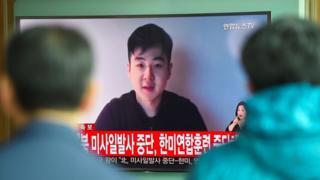 (캡션) 김정남 아들 김한솔