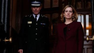İçişleri Bakanı Amber Rudd, Çarşamba günü vekilleri bilgilendirdi.