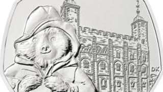 Paddington at the Tower 50p coin