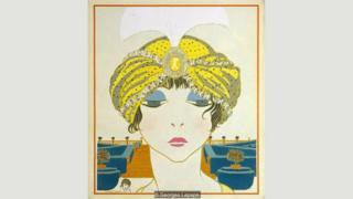 Una ilustración de Georges Lepape de 1911.