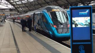 TransPennine Express launches £500 million new fleet of trains