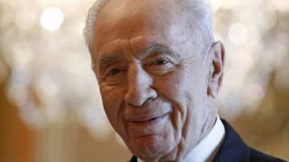 Former Israel Prime Minister Shimon Peres
