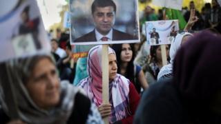 HDP'lilerin gösterileri