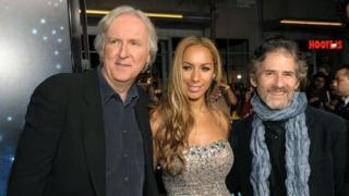 James Cameron, Leona Lewis and James Horner