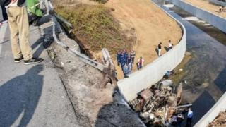 तुर्की में सड़क हादसा