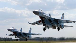中国2015年向俄罗斯订购24架苏-35战机,将到今年内完成付运。