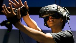 Casco Vive de realidad virtual