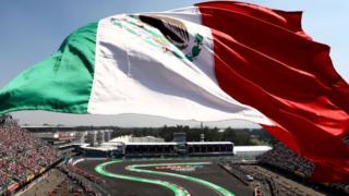 Imagen del Gran Premio de México de F1.