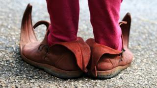 Zapatos de un elfo