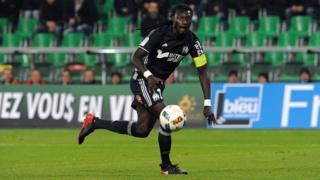 Bafétimbi Gomis a sorti Marseille du brouillard en marquant le 2e but de son équipe (Archives)