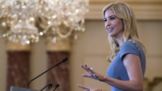 Ivanka Trump delivers remarks at the 2017 Trafficking in Persons Report ceremony at the State Department in Washington, DC, USA, 27 June 2017.