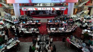 BBC Newsroom at NBH