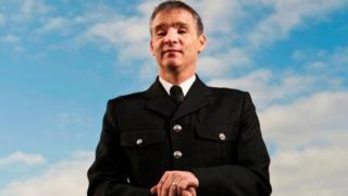 Pc David Rathband in his police uniform