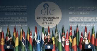 قمة منظمة التعاون الإسلامي في تركيا