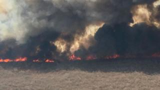 Incendios en Bolivia.