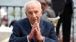 Agé de 93 ans, Shimon Peres a occupé plusieurs hautes fonctions dans le gouvernement israélien.