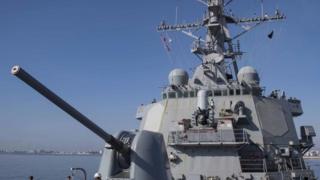 """美國海軍""""庫克""""號(USS Donald Cook)"""
