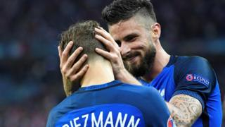 Griezmann y Giroud