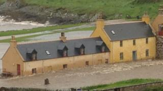 Flooding at Portsoy