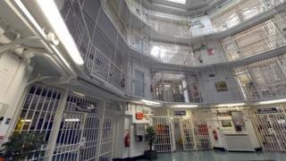 Interior of Pentonville Prison