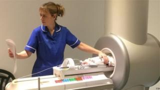 آلة التصوير بالرنين المغناطيس المصغرة للأطفال حديثي الولادة