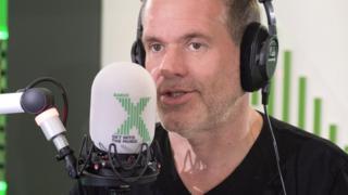 Chris Moyles on Radio X