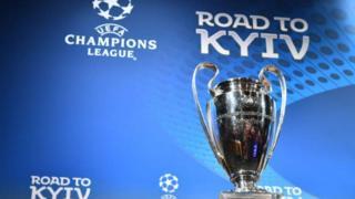 A ga-agba ngụcha asọmpi Uefa n'obodo Kyiv dịna mba Ukraine