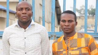 Di two suspects wey police say kill Ogar Jumbo