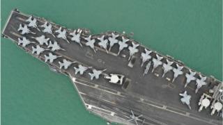 Nükleer yakıtlı Amerikan uçak gemisi