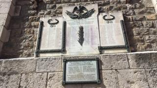 Memorial en Barcelonnette